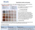 Tips voor werken met lijm en epoxy