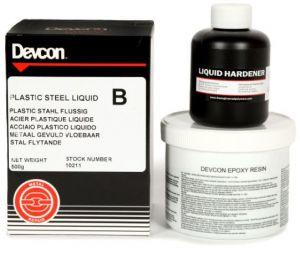 DEVCON B, (10211) vormbaar staal, vloeibaar, 500gram
