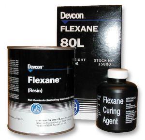 Devcon Flexane 80L - (15800) polyurethaan rubberachtige verbinding -500 gram
