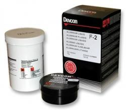 Devcon F2  (10711) vloeibaar aluminium - 500 gram