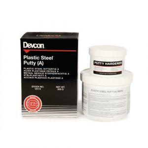 Devcon A - (10112 / 10110) vormbaar en kneedbaar staal - 500 Gram