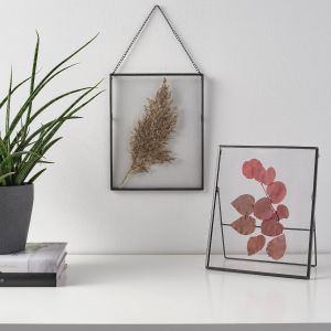 droogbloemen lijstje 20x25 cm hang/staand