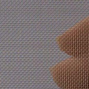 Proefstrip (staal) (RVS) gaas mesh 40 (300 micron)  - ongeveer 10 x 25 cm