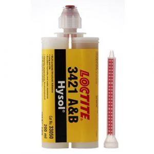 Loctite 3421 - langzaam uithardende lijm -200 ml duo cartridge