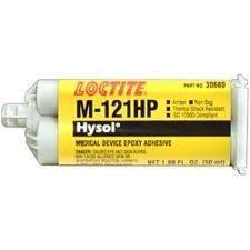 Loctite M-121HP Hysol Medische hulpmiddelen epoxy lijm (gecertificeerd ISO 10993) - 50 ml