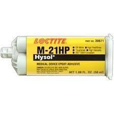 Loctite M-21HP Hysol Medische epoxy lijm (gecertificeerd ISO 10993) - 50 ml