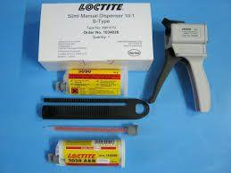 Loctite mengpistool voor 50 ml duo cartridge 10:1 (voor Loctite 3038 ml)