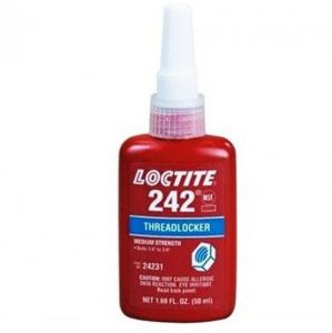 Loctite 242 - schroefdraadborger gemiddelde sterkte - 50 ml flacon