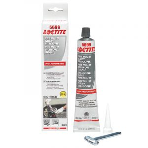 Loctite 5699  Grey Silicone, tube, 80ml.