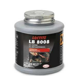 Loctite 8008 met kwast Anti-Seize op koperbasis - 454gr.