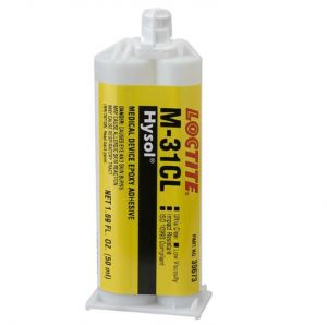Loctite Hysol M-31CL Medische Epoxy lijm (gecertificeerd ISO 10993)  - 50 ml Dual Cartridge