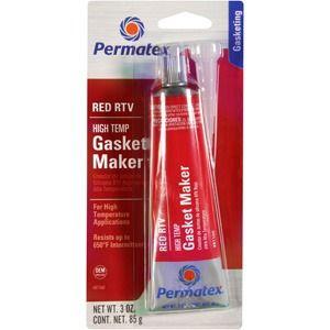 Permatex 81160 hoge temperatuur rode RTV siliconen pakking - 85 gram