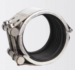 Reparatie Pijpklem EPDM rubber DN 100  voor uitwendig 112-118 mm leiding