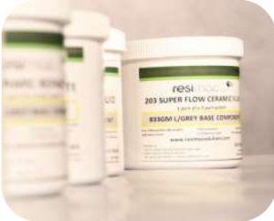 Resimac 203 Keramische supergladde coating (Super Flow) - 1 kg