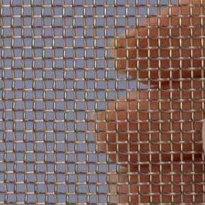 Proefstrip (staal) (RVS) gaas mesh 12 (1600 micron)  - ongeveer 10 x 25 cm