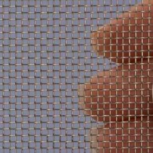 Geweven Roestvrijstaal (RVS) gaas mesh 14 (1300 micron)  - 1x1 meter