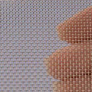 Geweven Roestvrijstaal (RVS) gaas mesh 18 (1100 micron)  - 1x1 meter