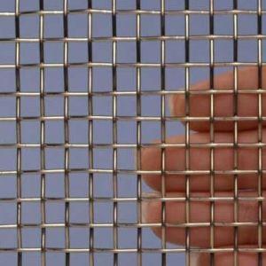 Geweven Roestvrijstaal (RVS) gaas mesh 2 - 1x1 meter