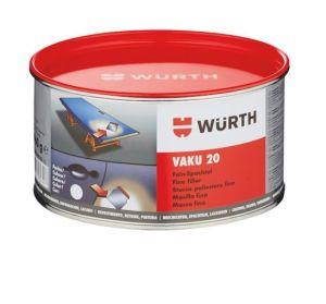 Wurth Plamuurmassa VAKU 20 FIJNPLAMUUR exclusief harder - 1960 gram